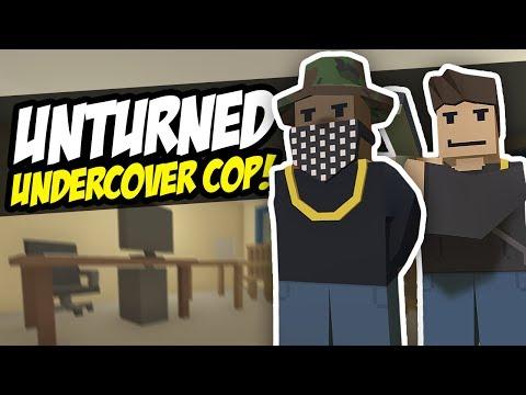 UNDERCOVER COP - Unturned Police RP | Epic Shootout!
