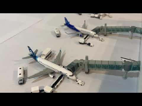 Airport update of Everett Paine field KPAE (Boeing Factory)