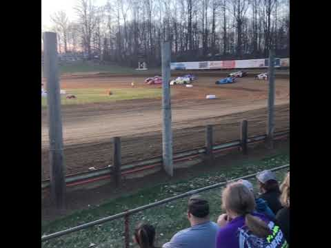 Super stock heat race- Lincoln Park Speedway