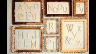 Unfinished Wooden Letters