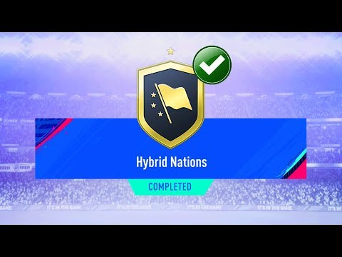 FIFA 19 HYBRID NATIONS SBC CHEAPEST SOLUTION (*No Loyalty*) | SQUAD BUILDING CHALLENGE | FIFA 19