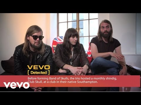 Band Of Skulls - VEVO Detected Interview