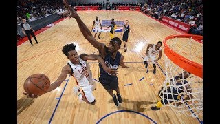 No.8 Pick Collin Sexton, Cedi Osman Propel Cavs Over Pacers In The 2018 MGM Resorts Summer League