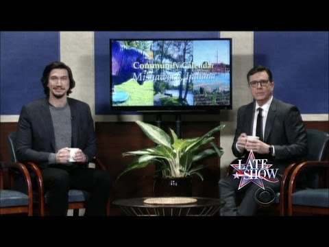 Mishawaka, Indiana Community Calendar With Adam Driver