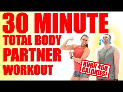 30 Minute Full Body Partner Workout Sydney Cummings