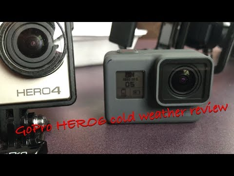 GoPro HERO6 cold weather review (snowboarding)