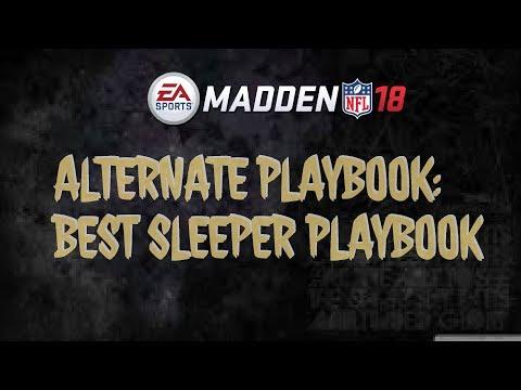Madden 18 Playbooks Breakdown -RUN & SHOOT PLAYBOOK-GREATEST MONEY PLAY COVERAGE BEATER PLAYBOOK