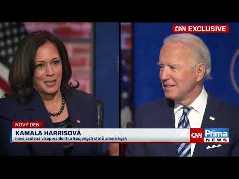 Joe Biden pro CNN Prima NEWS
