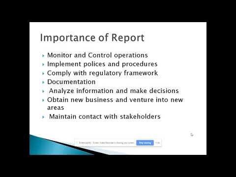 Unit 4 Business Communication - Report Writing