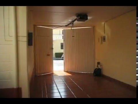 Puerta abatible hacia adentro youtube Puertas automaticas df