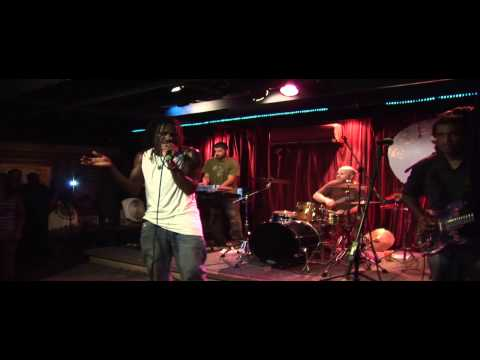 Culture and the Give Thanks Band live at the Rusty Nail