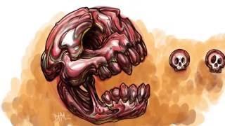 Drawtober 05 Pacman Skully