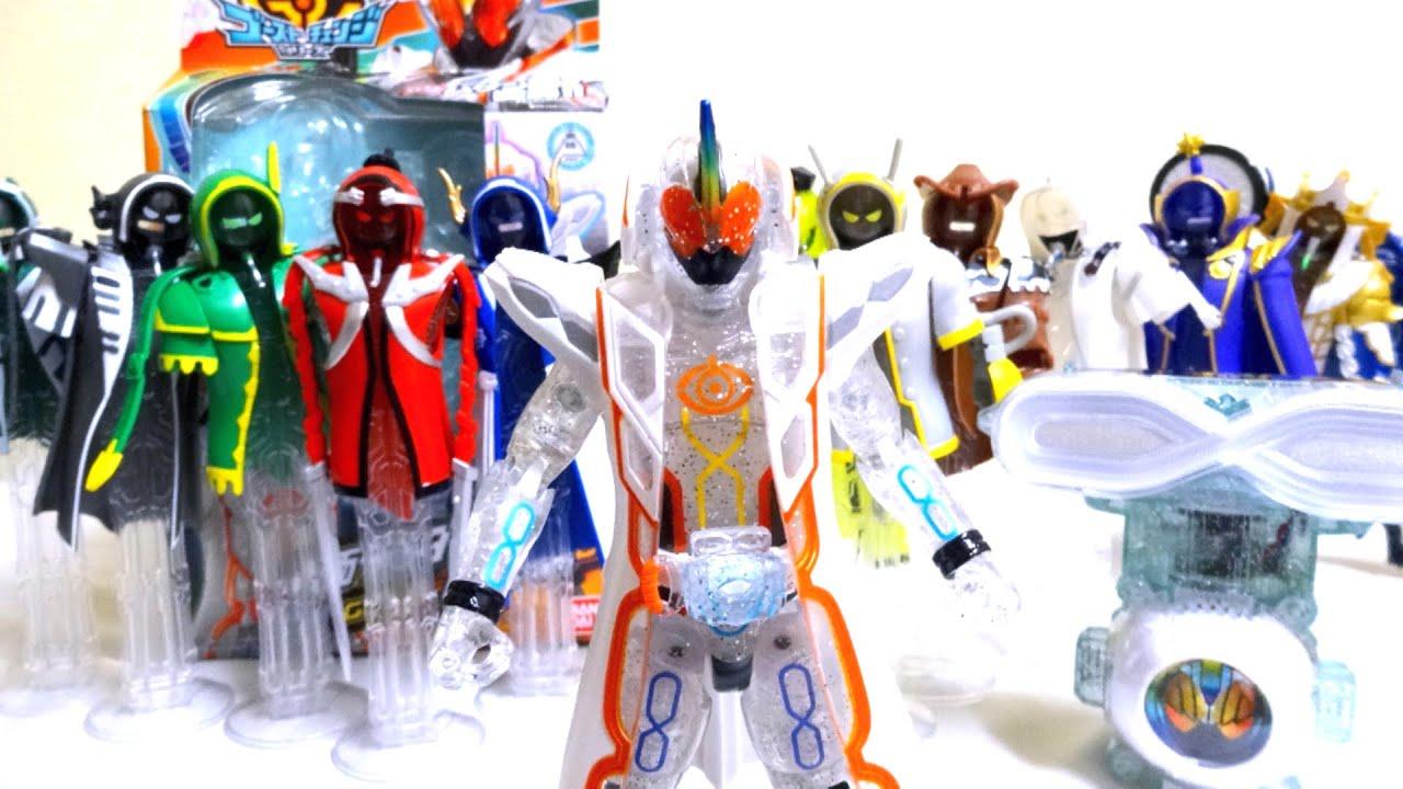 仮面ライダーゴースト】最強、最...