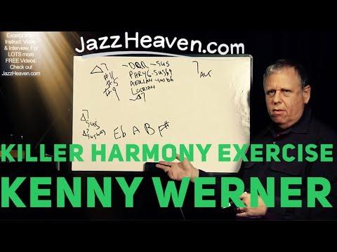 KILLER *Jazz Harmony Lesson* Effortless Mastery Kenny Werner Random Harmony Exercise JAZZHEAVEN.COM