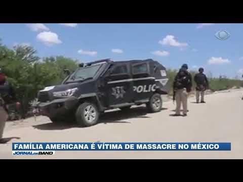 Família americana é vítima de massacre no México