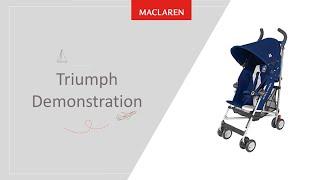 The Maclaren Triumph Demonstration Video