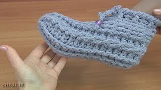 Носки очень теплые. Урок 172