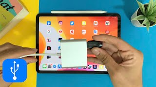 How To Connect USB Flash Drive To iPad Pro On iOS 13 iPadOS