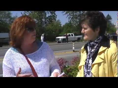 Interview at Langley Rally with RoadKill Radio Host Kari Simpson