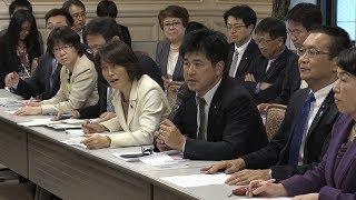 加計学園「首相案件」報道で野党6党が合同ヒアリング thumbnail