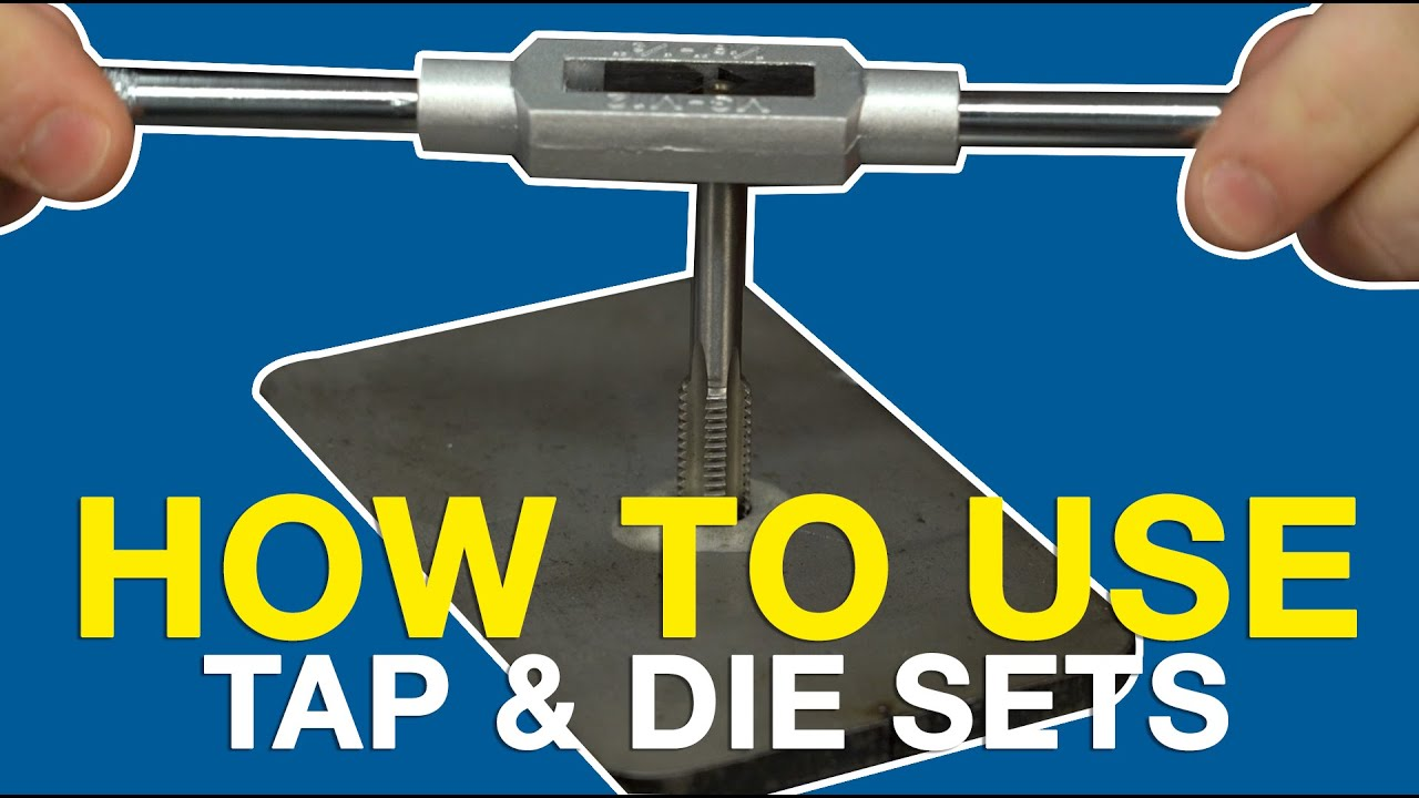 Standard SAE Tap and Die Set 110 Piece w// Case Threading Chasing Repair zT
