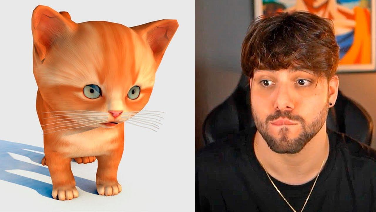 Depois desse vídeo eu percebi que preciso de um gato mesmo