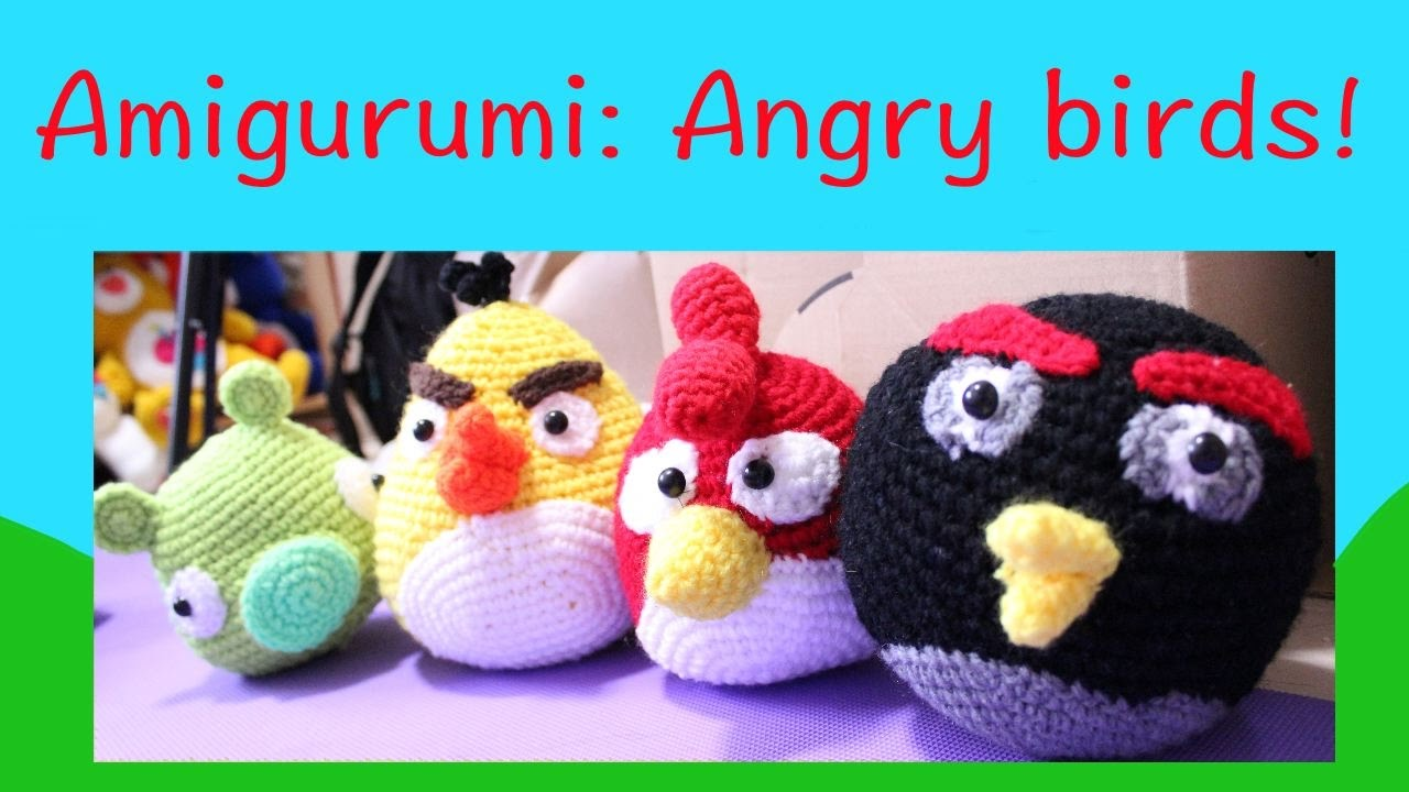 Ravelry: Angry Birds - Black Bird pattern by Adorable Amigurumi | 720x1280