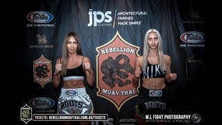 Roots 6: Nazmiye Bahri vs Kate Van Staveren - FULL FIGHT
