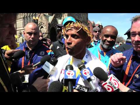 Meb Keflezighi: Boston Marathon 2014 Champion