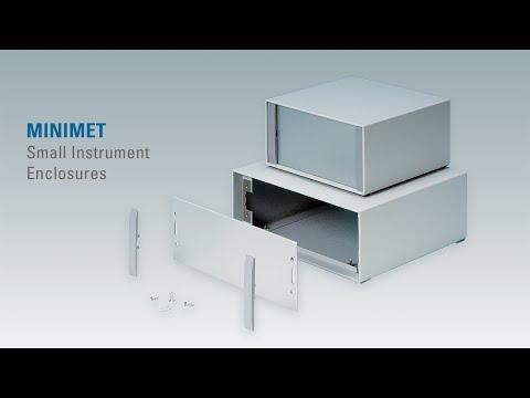 MINIMET   Small Aluminium Instrument Enclosures