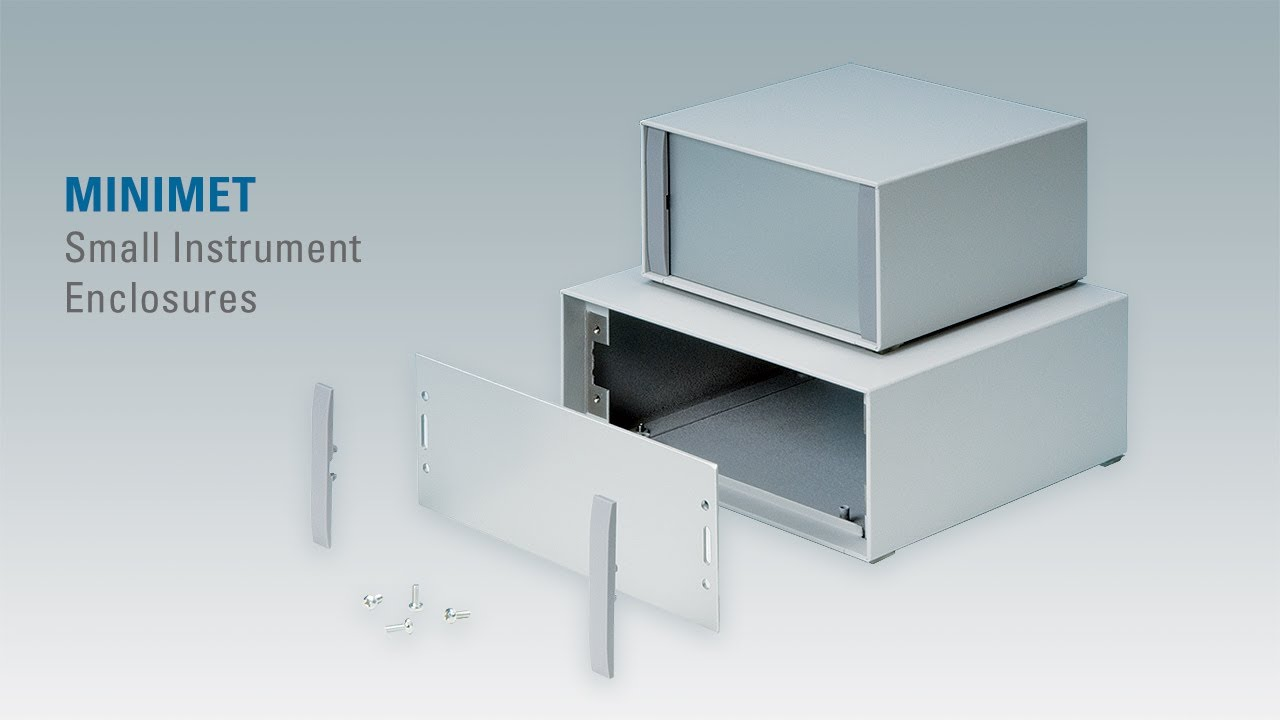 Minimet Small Aluminium Instrument Enclosures Youtube