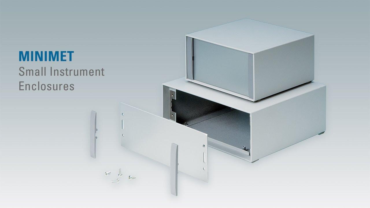 Minimet Small Aluminium Instrument Enclosures Youtube