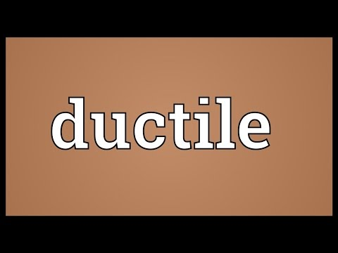 Ductile Meaning