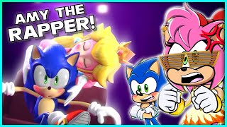 AMY THE RAPPER ! - Sonic & Amy REACT to