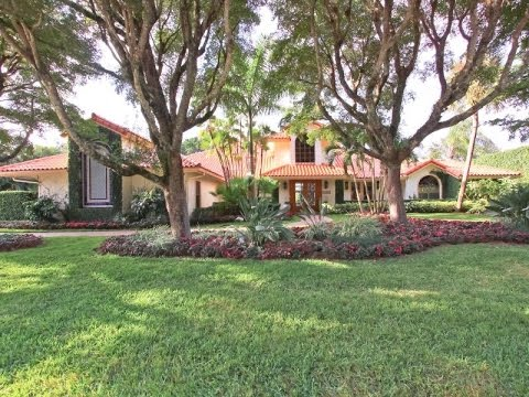 Spanish-Style Estate in Wellington, Florida