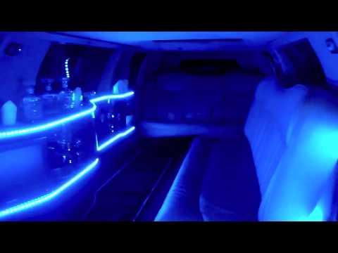 Lincoln Limousine Interior Led Lights Youtube