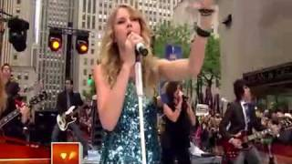 Taylor Swift You Belong With Me Live On the Today Show:D:D