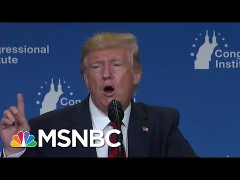 How President Donald Trump Is Trying To Unify Republicans   Velshi & Ruhle   MSNBC