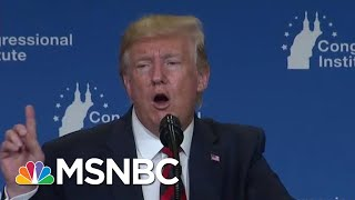 How President Donald Trump Is Trying To Unify Republicans | Velshi & Ruhle | MSNBC
