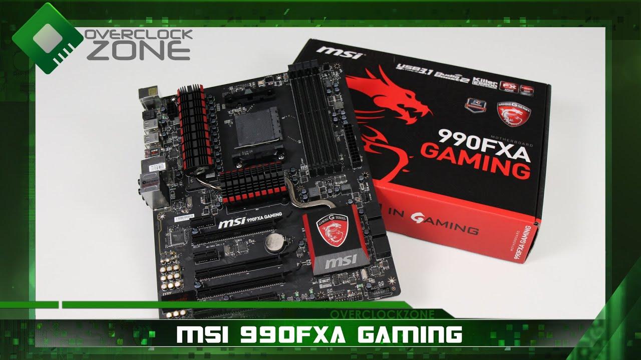 รีวิว MSI 990FXA Gaming : by OverclockzoneTV#2 EP 64
