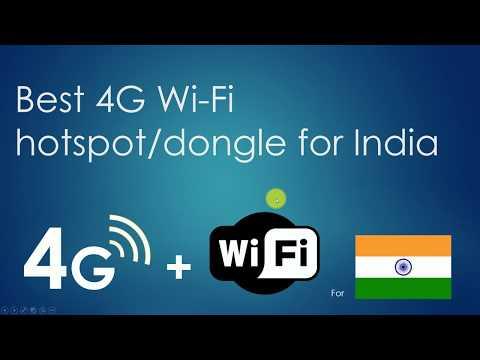 Best 4G WiFi Hotspot / Dongle for India (Better than JioFi ) - (Hindi)