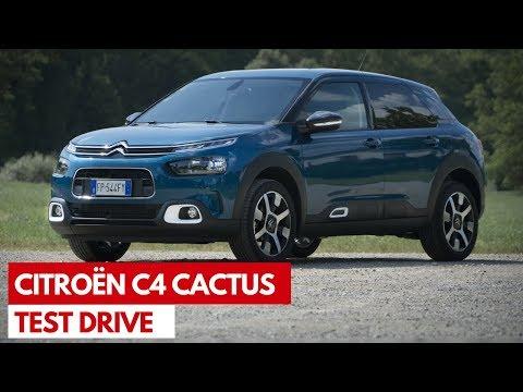 Citroen C4 Cactus | Test Drive della compatta confortevole