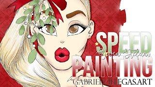 Gwen Stefani | Speed Painting