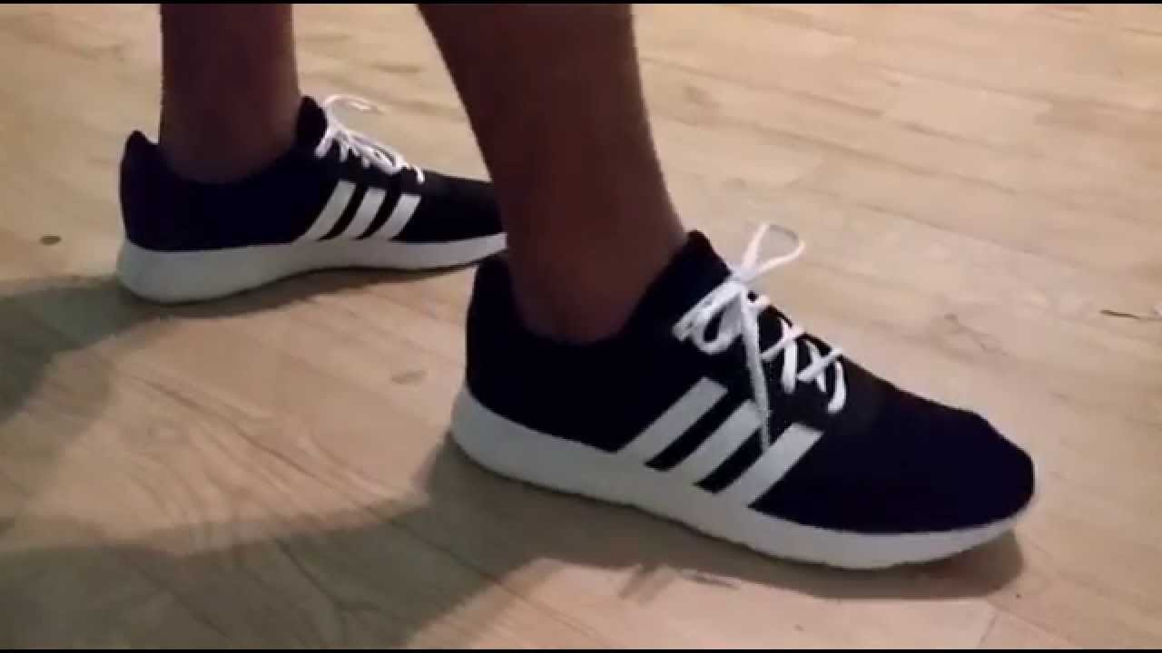 Adidas neo lite racer unboxing and on feet review - YouTube 48bfc486eb5e1