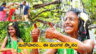 Mangala Snaanam/ Vidhathri's half Saree ceremony/ Indian traditional function/ Puttuvoli