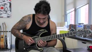 How to play 'Kissing The Shadows' by Children Of Bodom Solo Lesson pt3