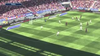 PES 2015 - (NEW) GAMEPLAY - BARCELONA VS REAL MADRID PS4 (DEMO)