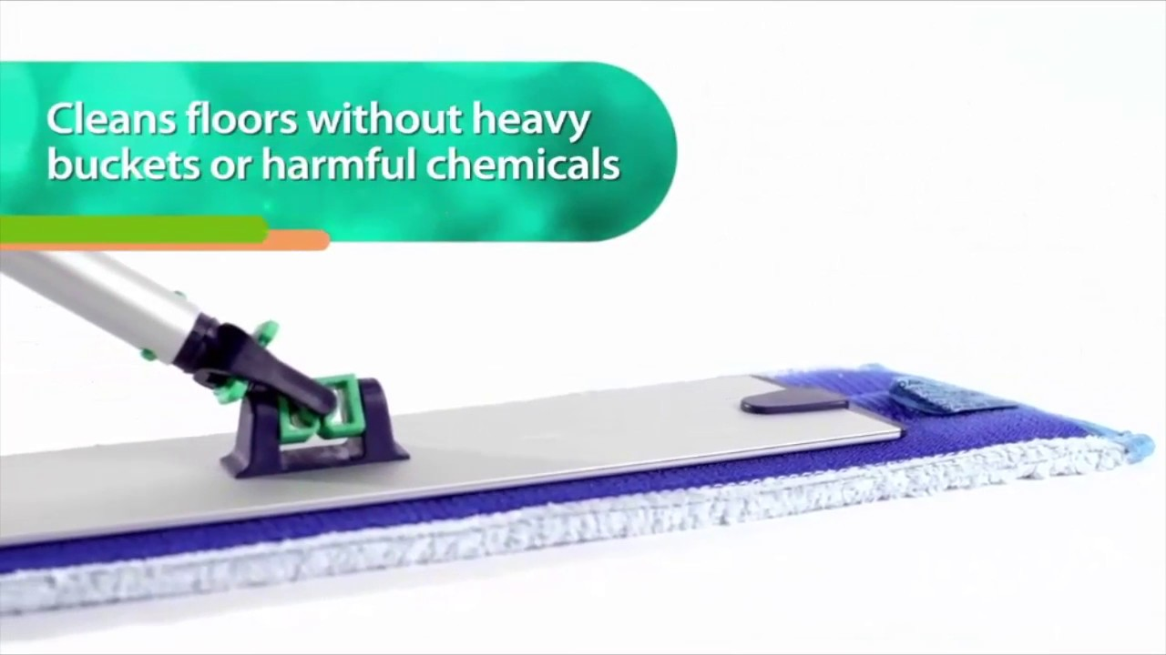 Norwex Mop Systems- Clean floor without bucket or chemicals - YouTube