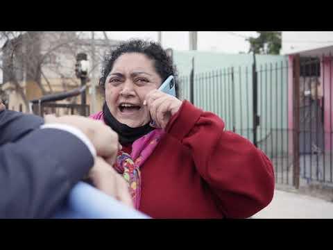 Vecina de Quilmes fue a un acto de campaña y terminó hablando por teléfono con Cristina Kirchner