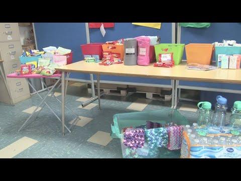 Wintersville Elementary School's second grade class fills up cancer bags